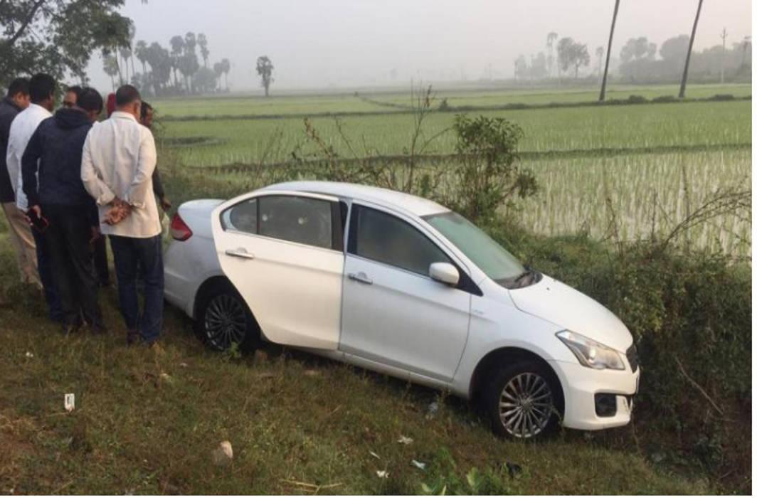 Express TV MD found dead in a car in Andhra Pradesh