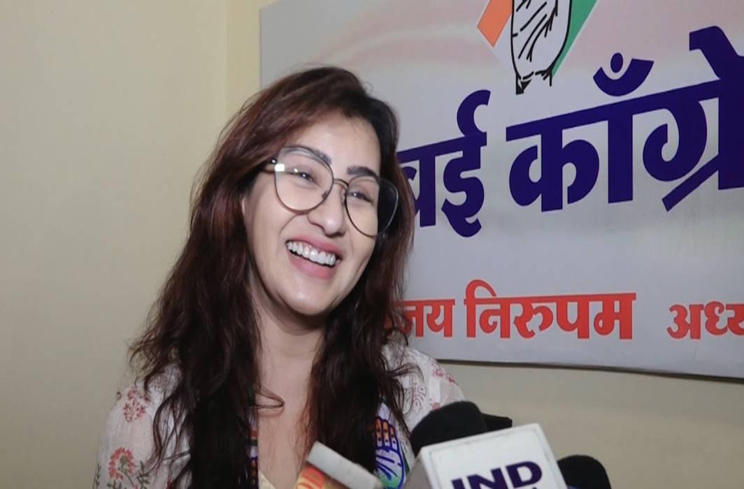 Television actress Shilpa Shinde