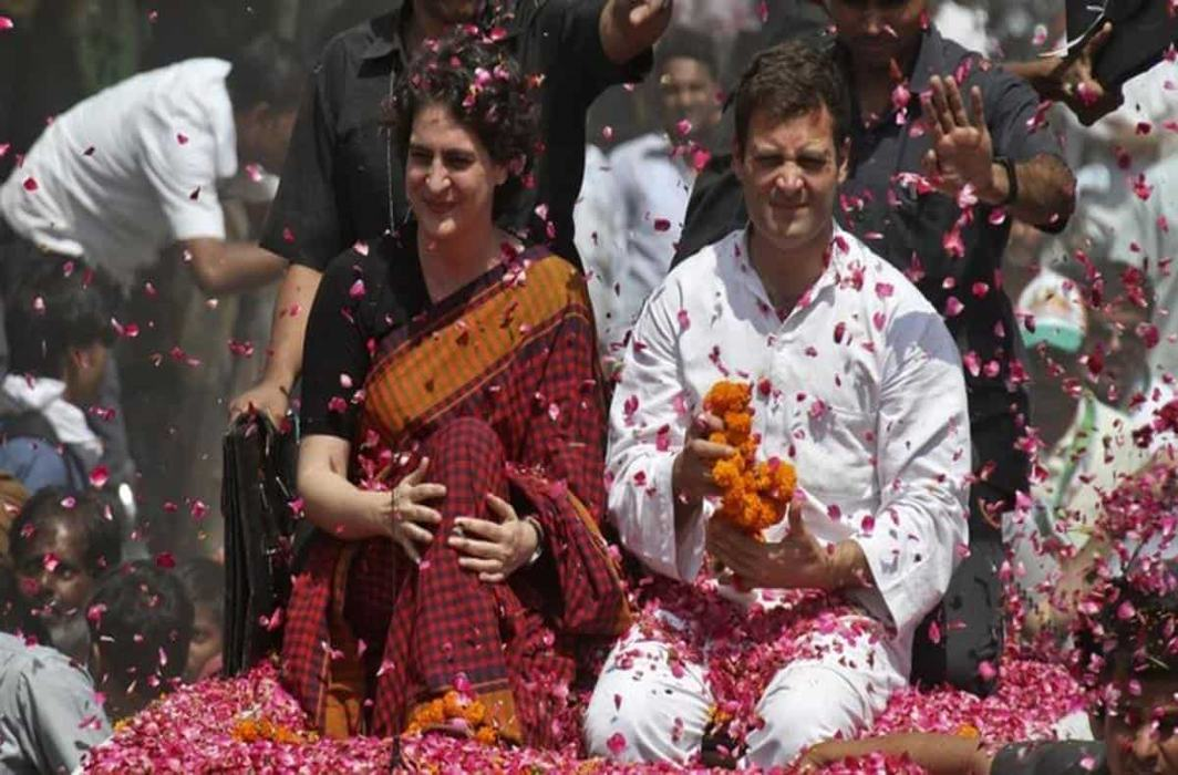 Priyanka Gandhi roadshow