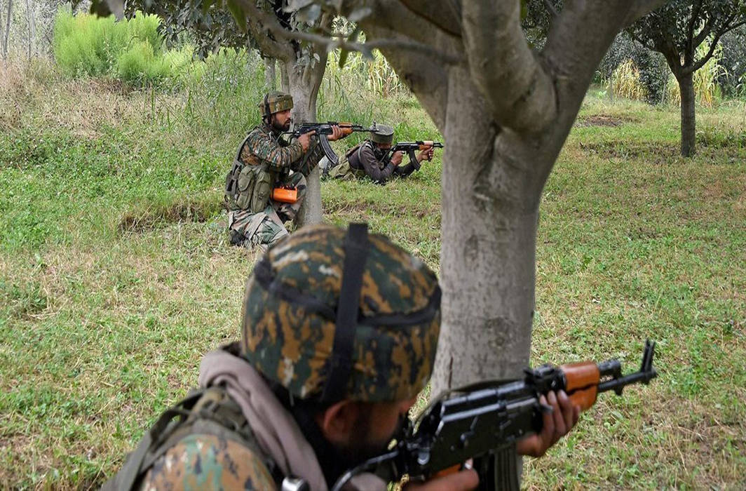 encounter in J&K's Pulwama