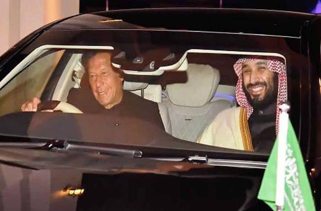 Saudi Crown Prince signs $20 bn deals with Pak, to visit India tomorrow