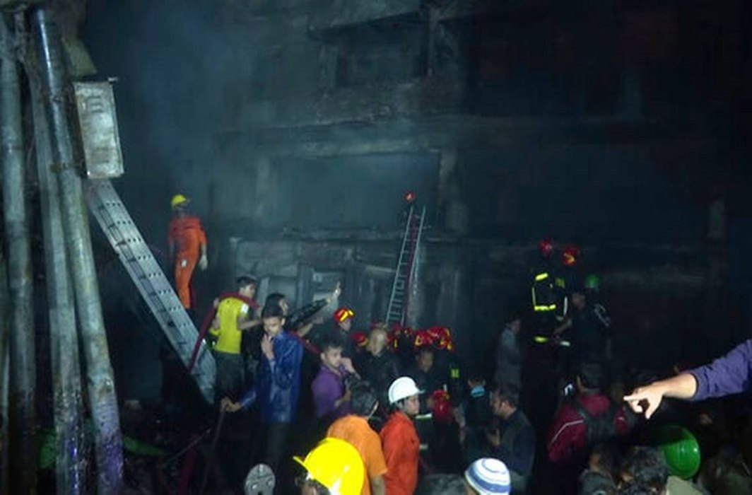 Major fire at chemical warehouse, 69 people dead in Dhaka