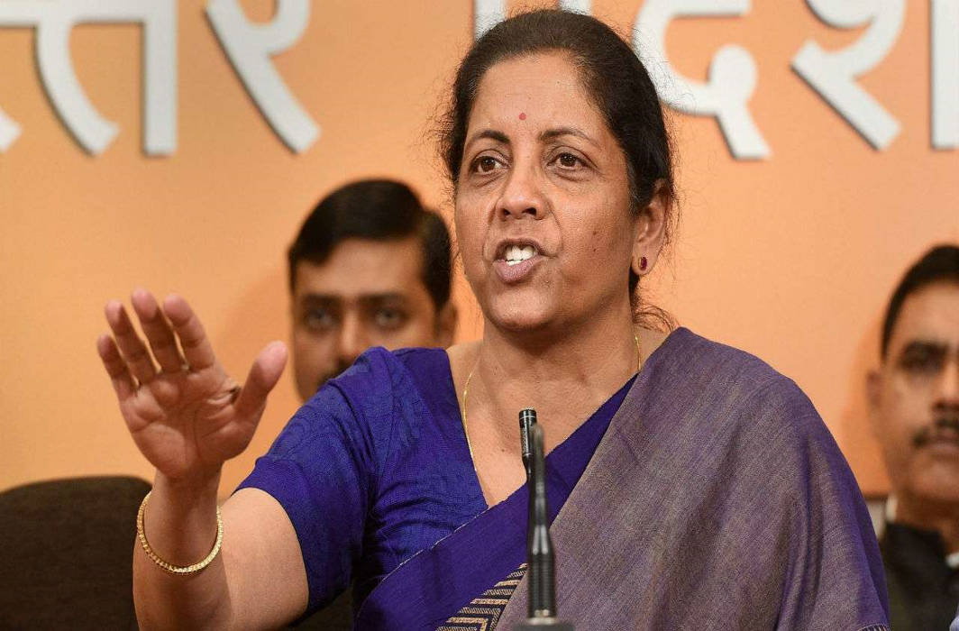Finance Minister Sitharaman