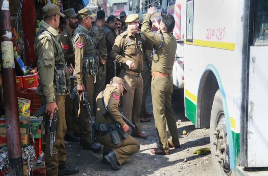 Grenade blast at Jammu bus stand