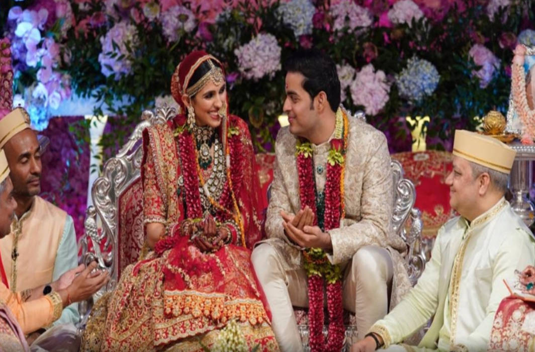 Akash Ambani- Shloka Mehta wedding ceremony