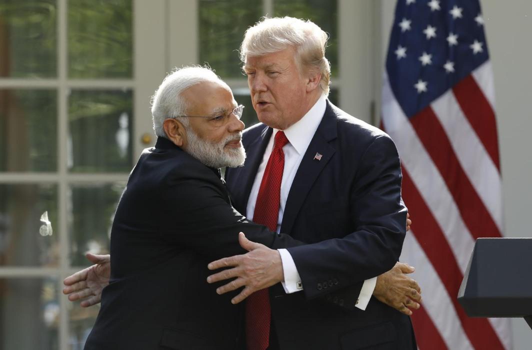 Narendra Modi & Donald Trump
