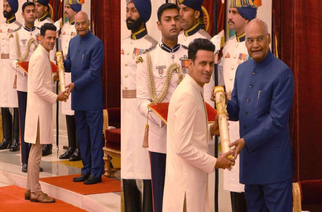 Veteran actor Manoj Bajpayee conferred with Padma Shri award