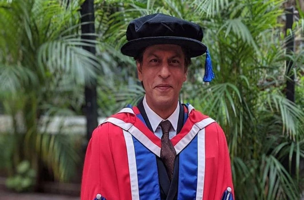 SRK gets honorary doctorate from University of Law in London