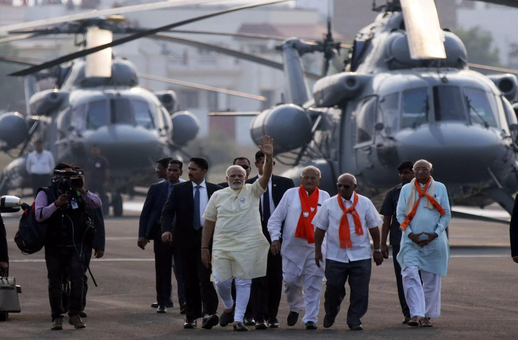 Poll official suspended for checking PM Modi's chopper, Congress raises questions