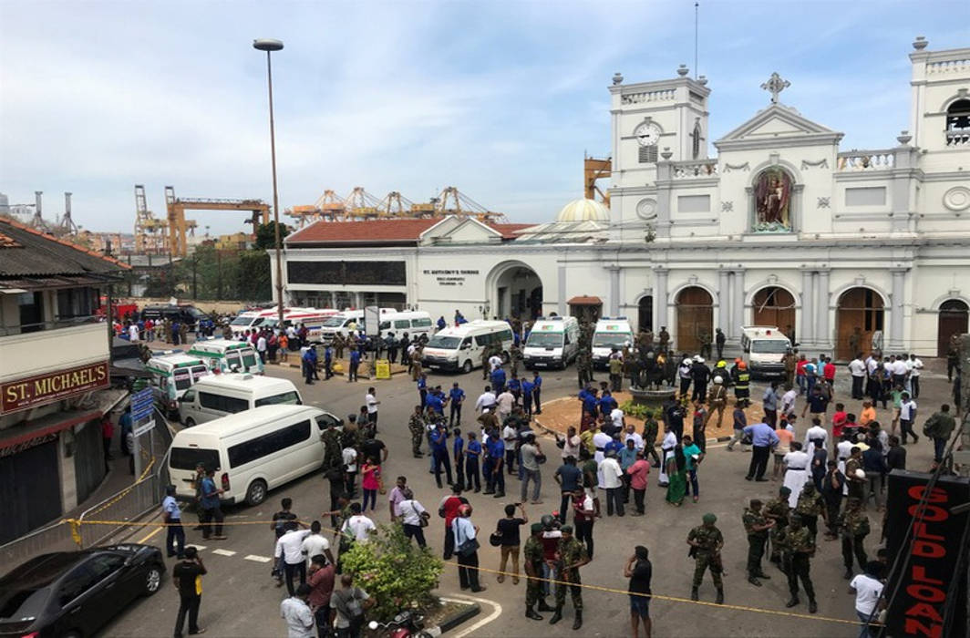129 dead, 300 injured in blasts at churches and hotels in Sri Lanka's Colombo on Easter