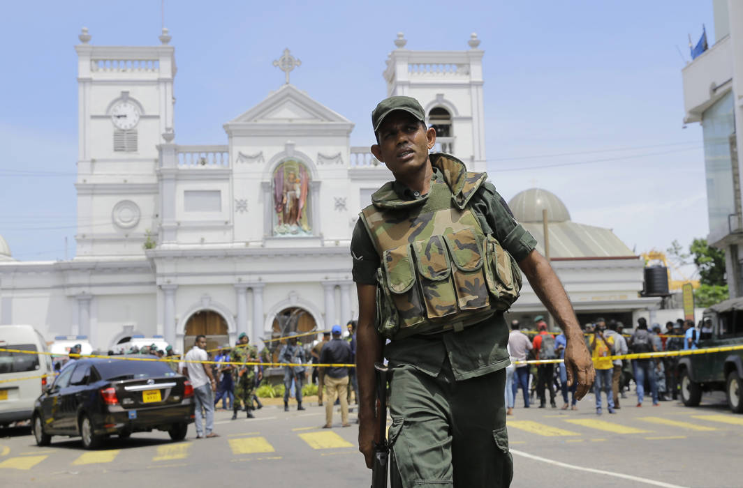 290 killed, 500 injured in multiple bomb blasts in Sri Lanka
