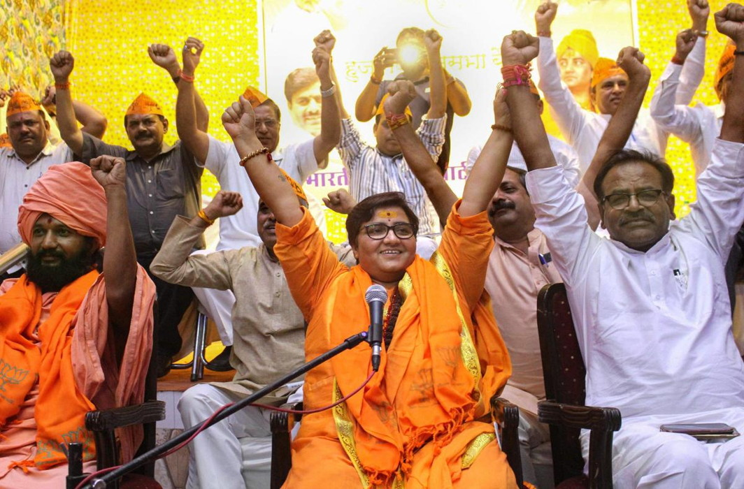 Ex civil servants demand withdrawal of terror-accused Pragya Thakur's candidature