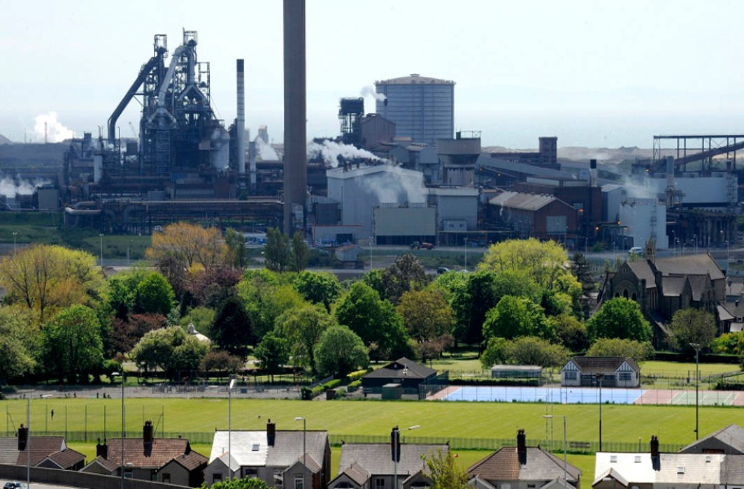 Explosion at TATA Steel Plant at Port Talbot in UK, two injured