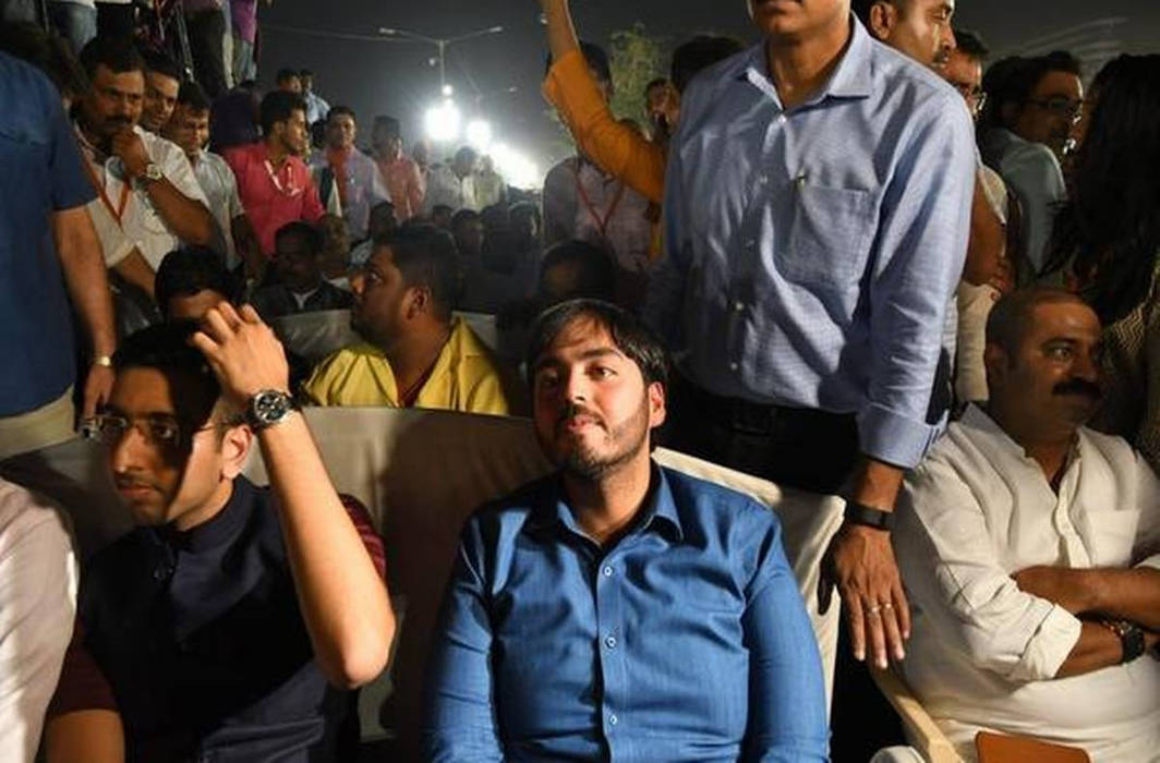 Anant Ambani attended PM Modi's Rally in Mumbai