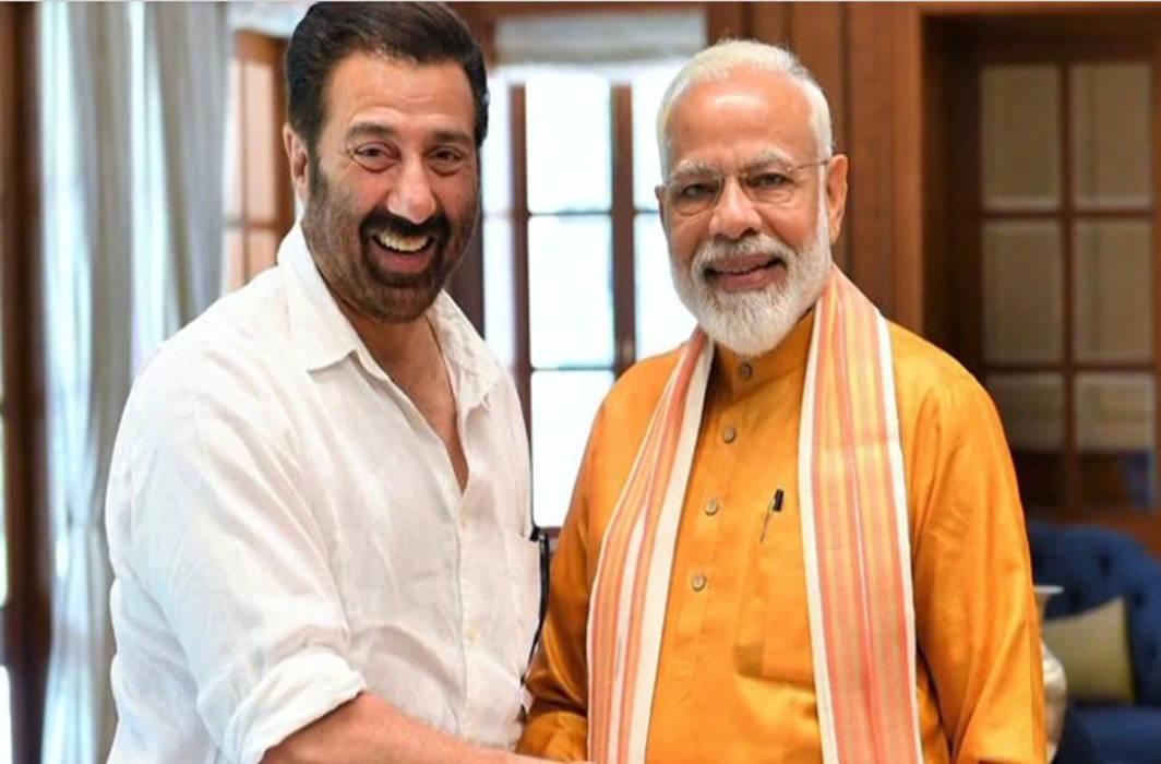 PM Modi meets Sunny Deol, tweets, 'Hindustan Jindabad tha, aur rahega'