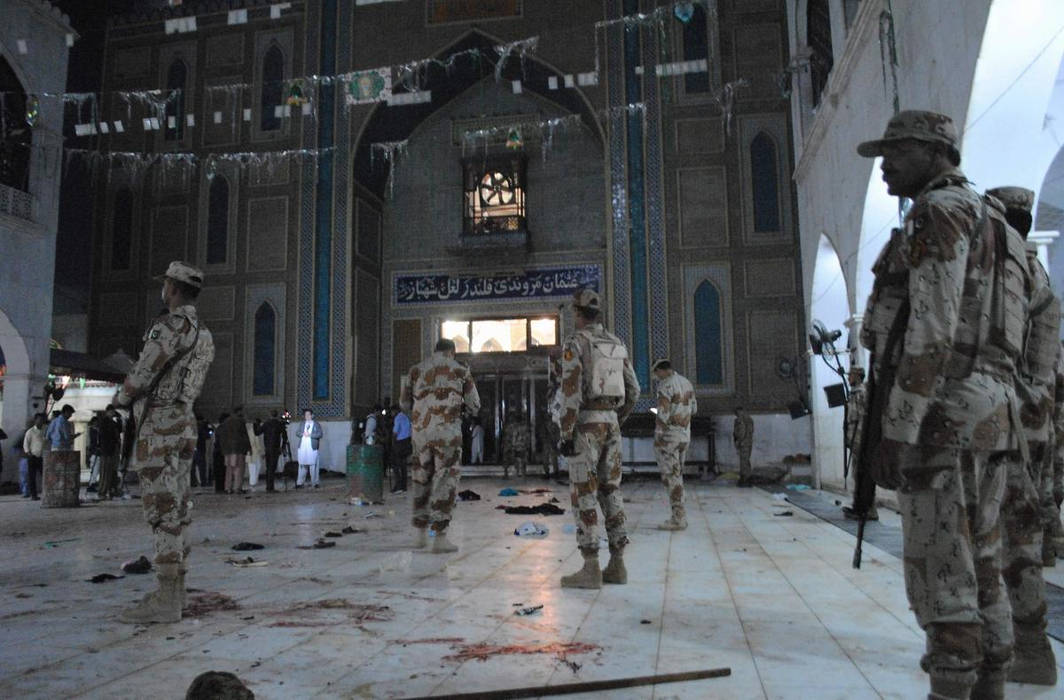 Blast near Sufi Shrine in Pakistan's Lahore kills 4