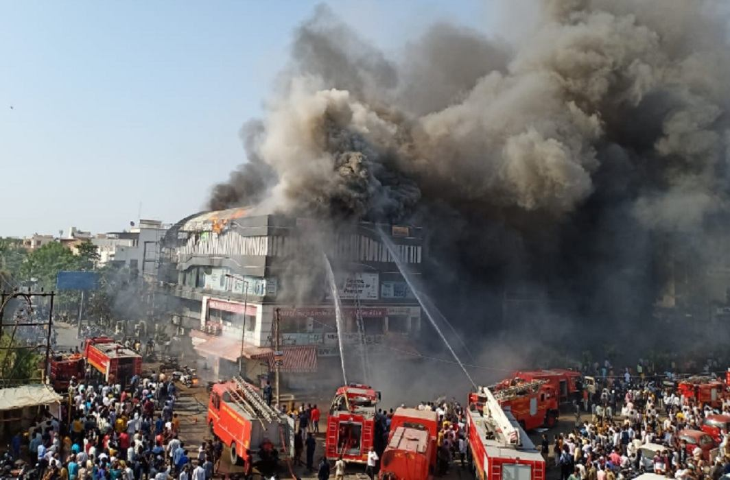 Massive fire breaks out at coaching centre in Surat, 20 killed