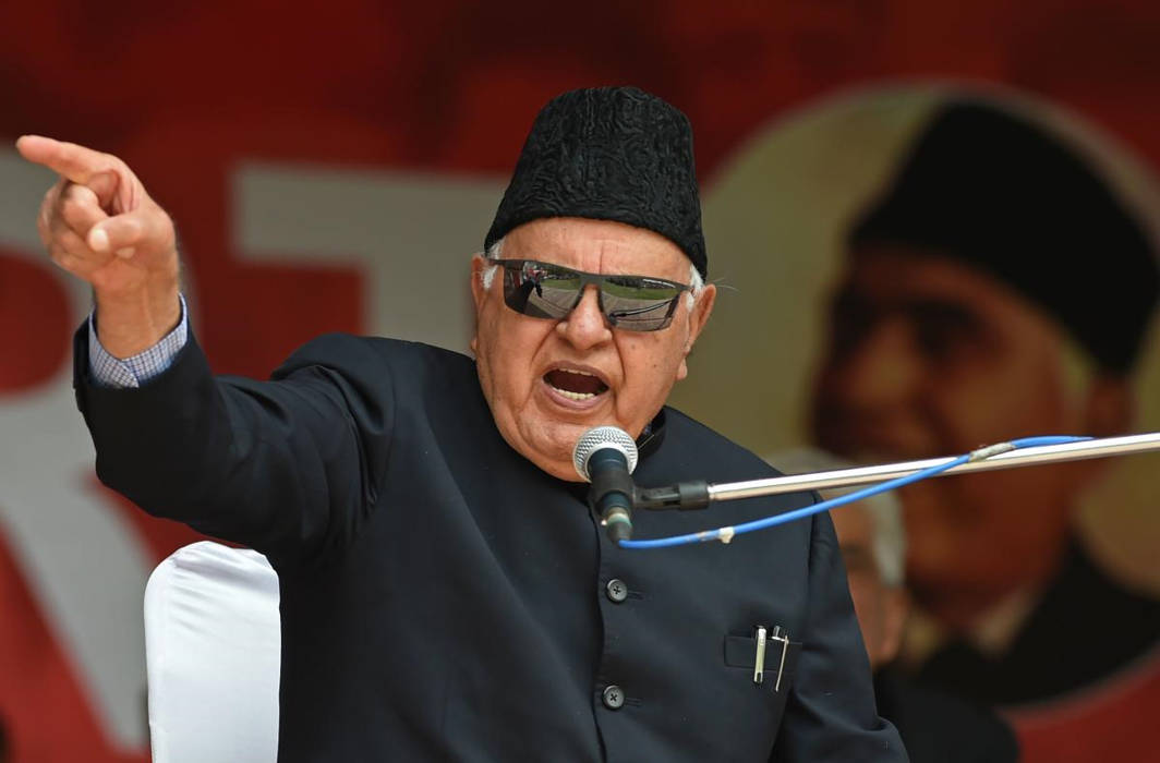 National Conference (NC) chief Farooq Abdullah