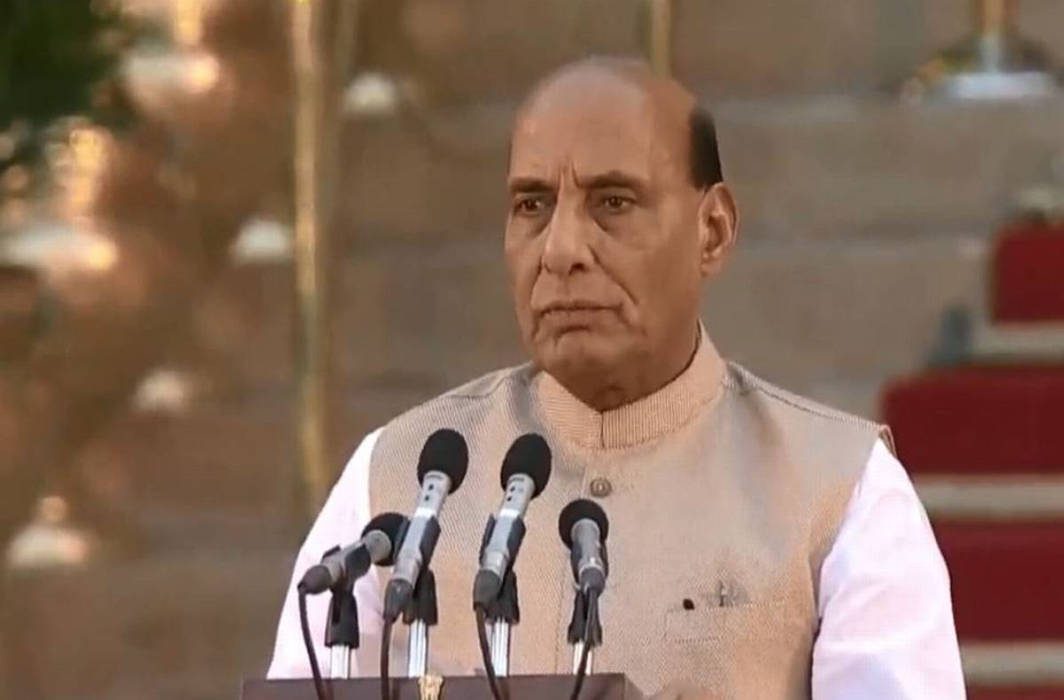 Rajnath Singh Defence Minister