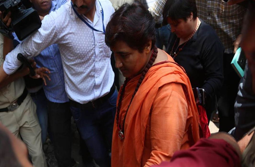 Pragya Thakur appears before NIA court, says didn't know Malegaon blast happened