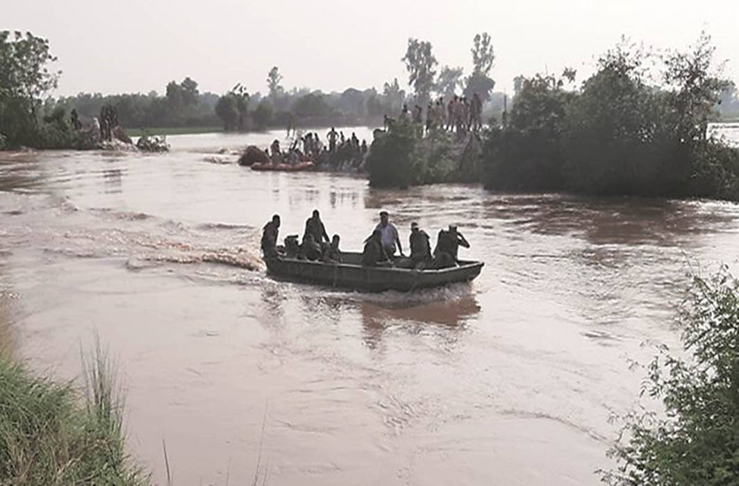 Punjab Chief Minister holds Akalis responsible for the flood