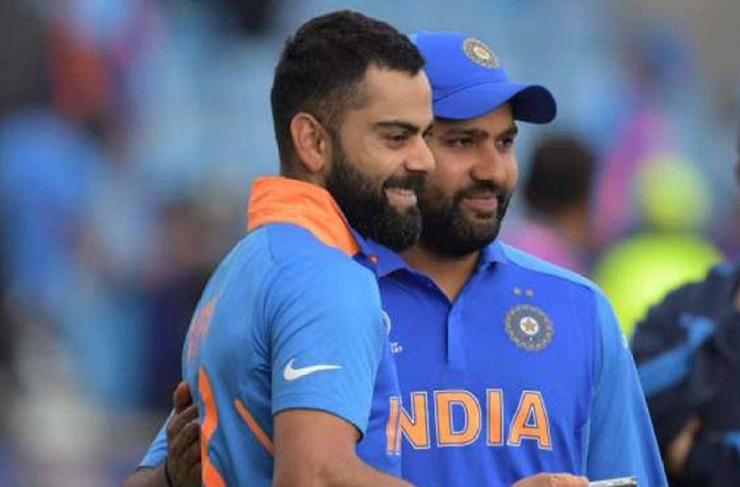 BCCI steps in to resolve Rohit Sharma-Virat Kohli's rift