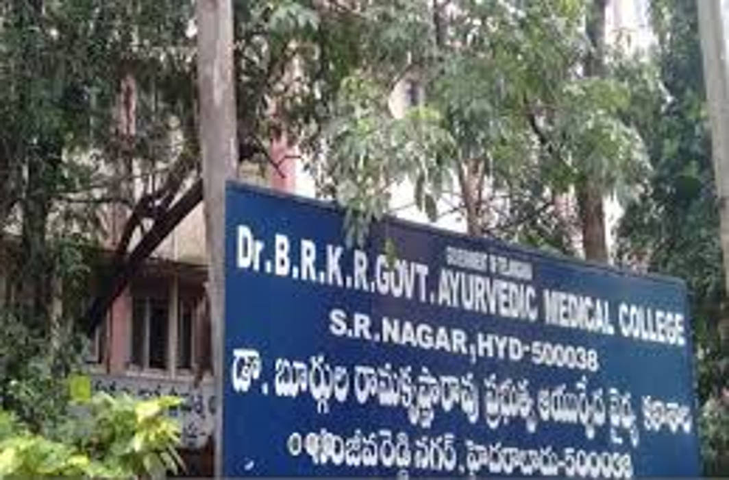 Ayurveda college students protest against premises relocation; girl students molested