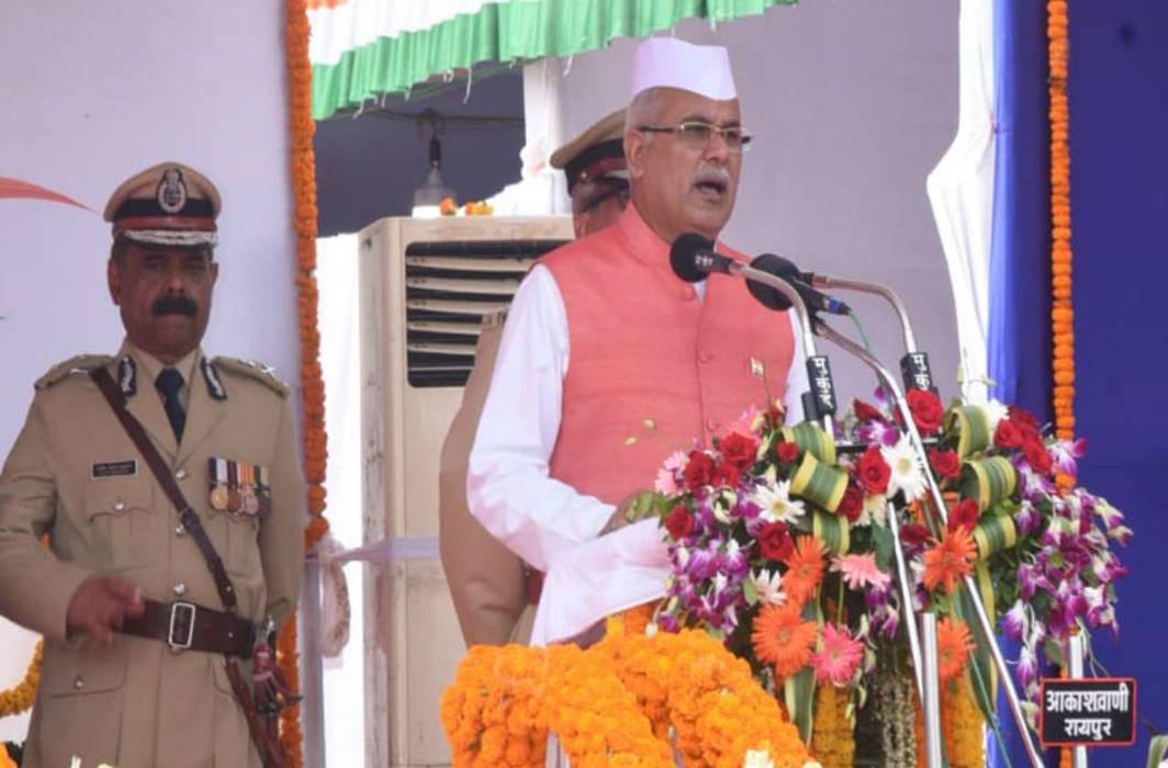 Chhattisgarh Chief Minister Bhupesh Bhagel