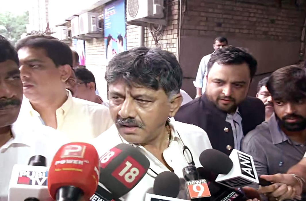 Karnataka Congress troubleshooter DK Shivakumar, arrested by ED, produced in court