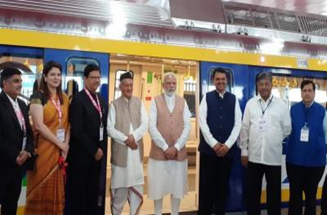 PM Modi inaugurates First 'Make in India' Metro Coach in Mumbai