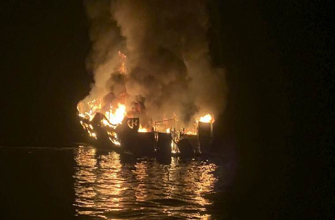 A US based Indian couple died in California boat fire