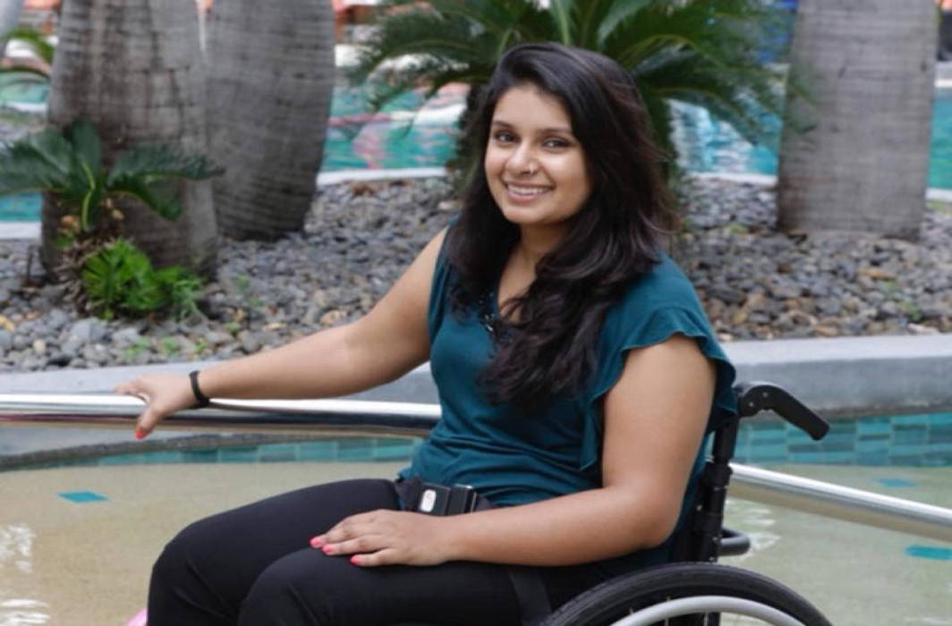 Forced to stand up at Delhi airport: Wheelchair-bound woman