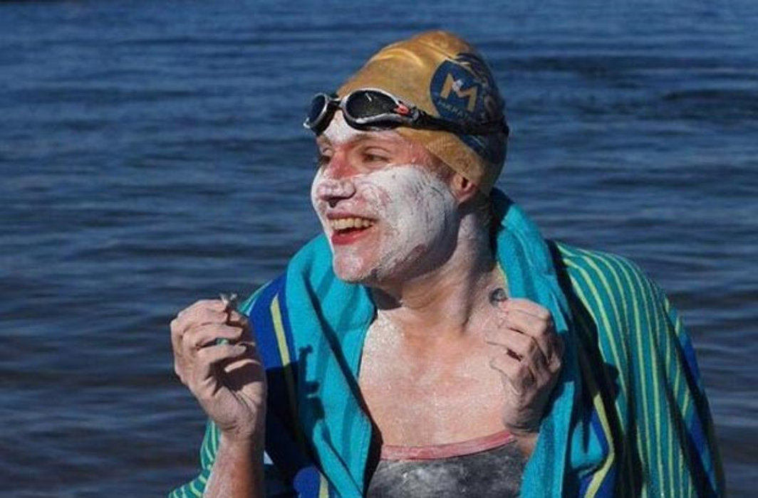 US Sarah Thomas: 1st To Swim English Channel 4 Times nonstop