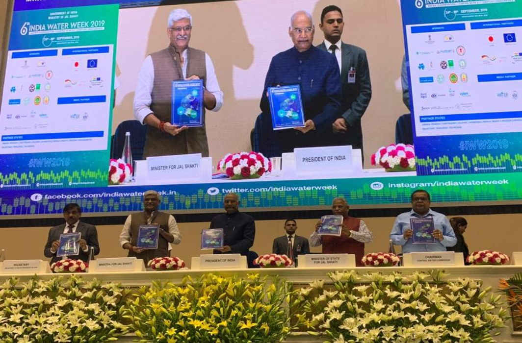 President emphasises on reducing water footprint at 6th India Water Week 2019