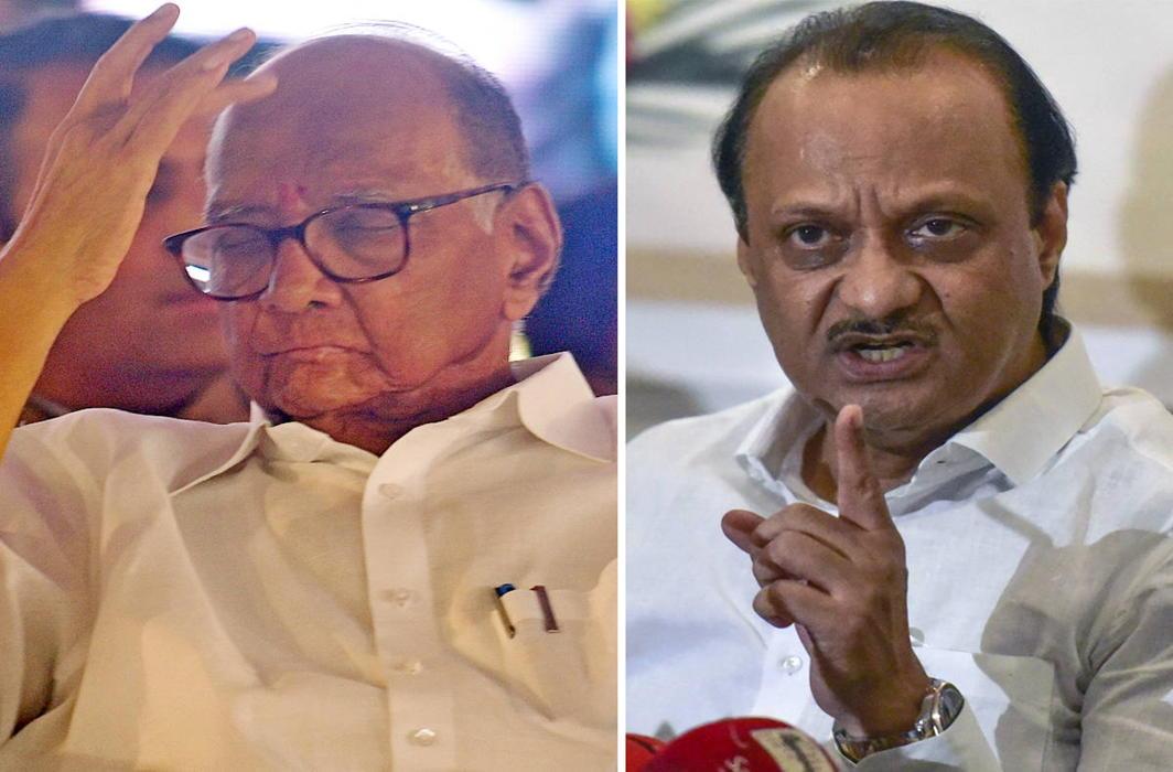 Ahead of Maharashtra polls, ED books Sharad Pawar, nephew Ajit Pawar