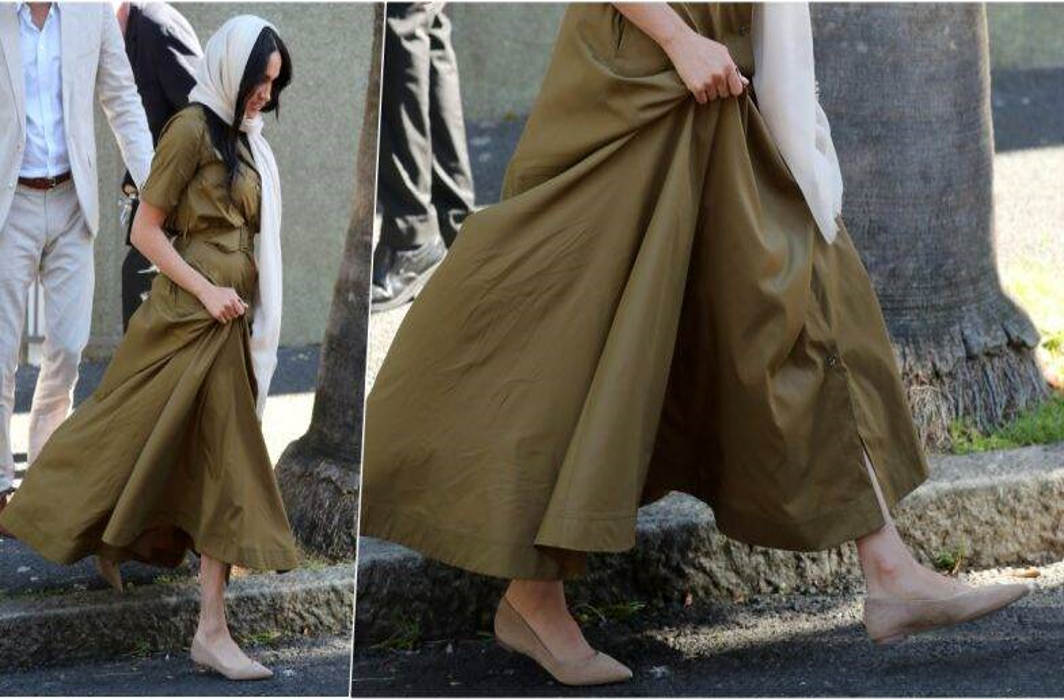 $ 100 Flats in Meghan's Royal Wardrobe for South Africa Tour
