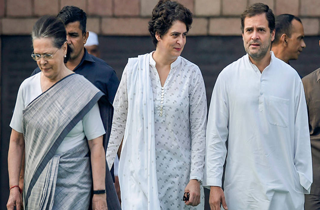 Rallies as part of Gandhi Jayanti celebrations by Sonia, Rahul and Priyanka