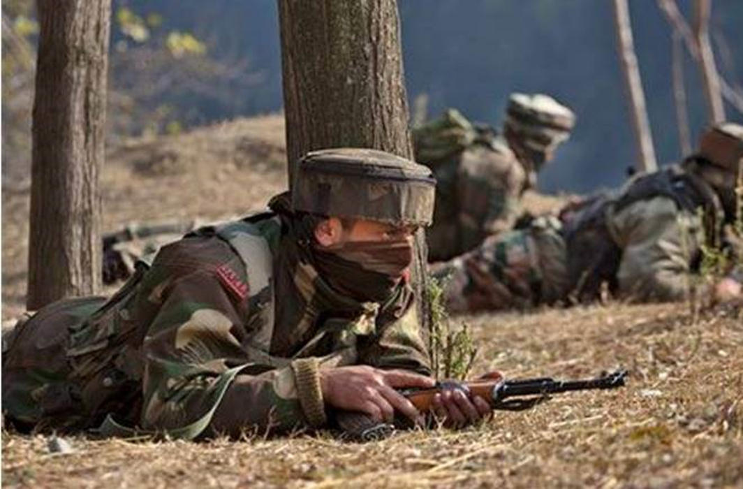Three terrorists killed during gun battle in J&K's Ganderbal; Arms seized