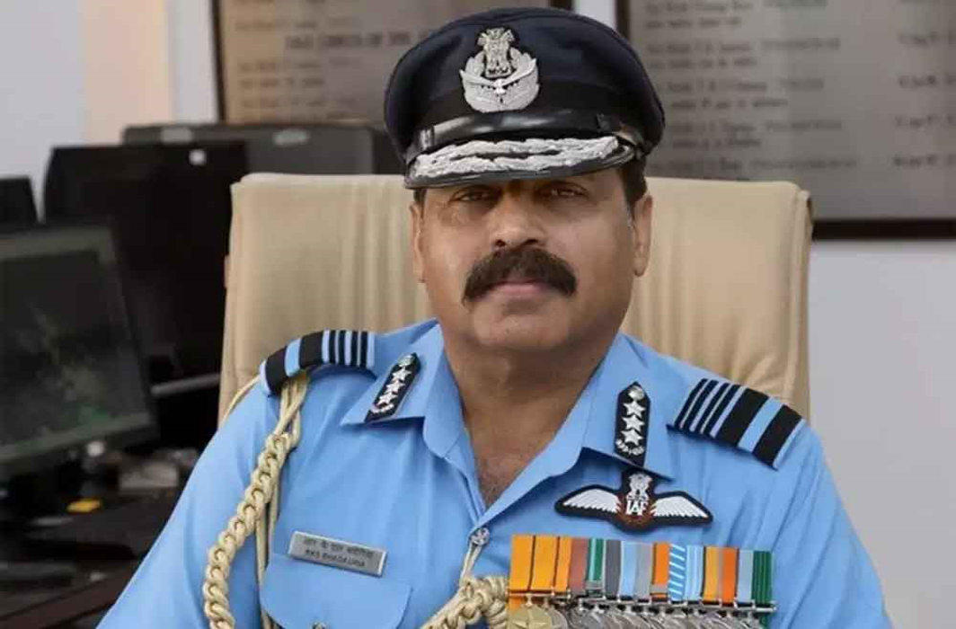 Rakesh Kumar Singh Bhadauria takes charge as new Indian Air Force chief