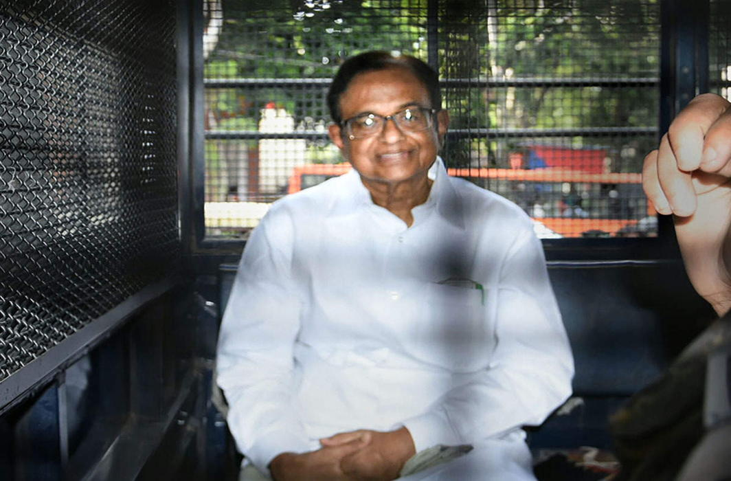 Chidambaram's judicial custody extended, to stay in Tihar Jail till Oct 17