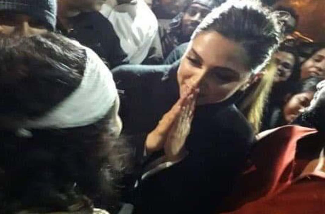 Deepika Padukone at JNU protest