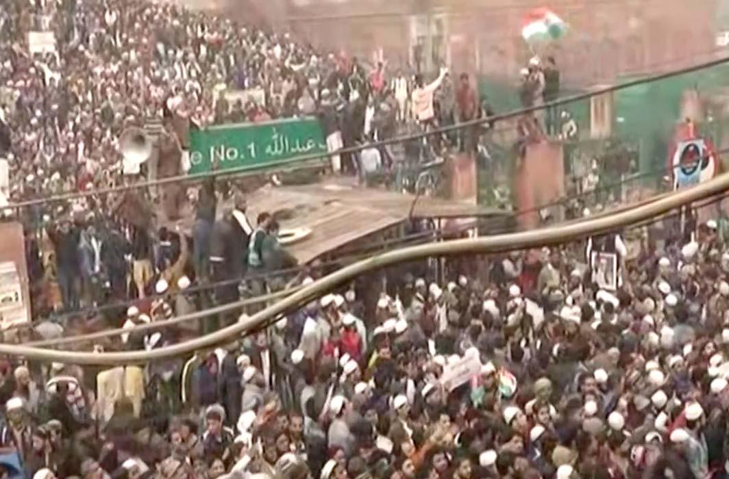 Jama Masjid protests