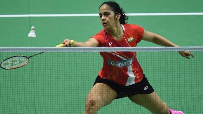 Saina Nehwal. (Photo   Twitter/BAI Media)