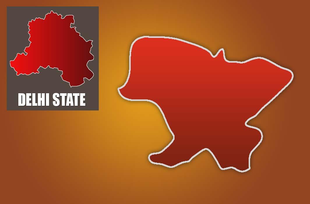 Map of Badli Constituency