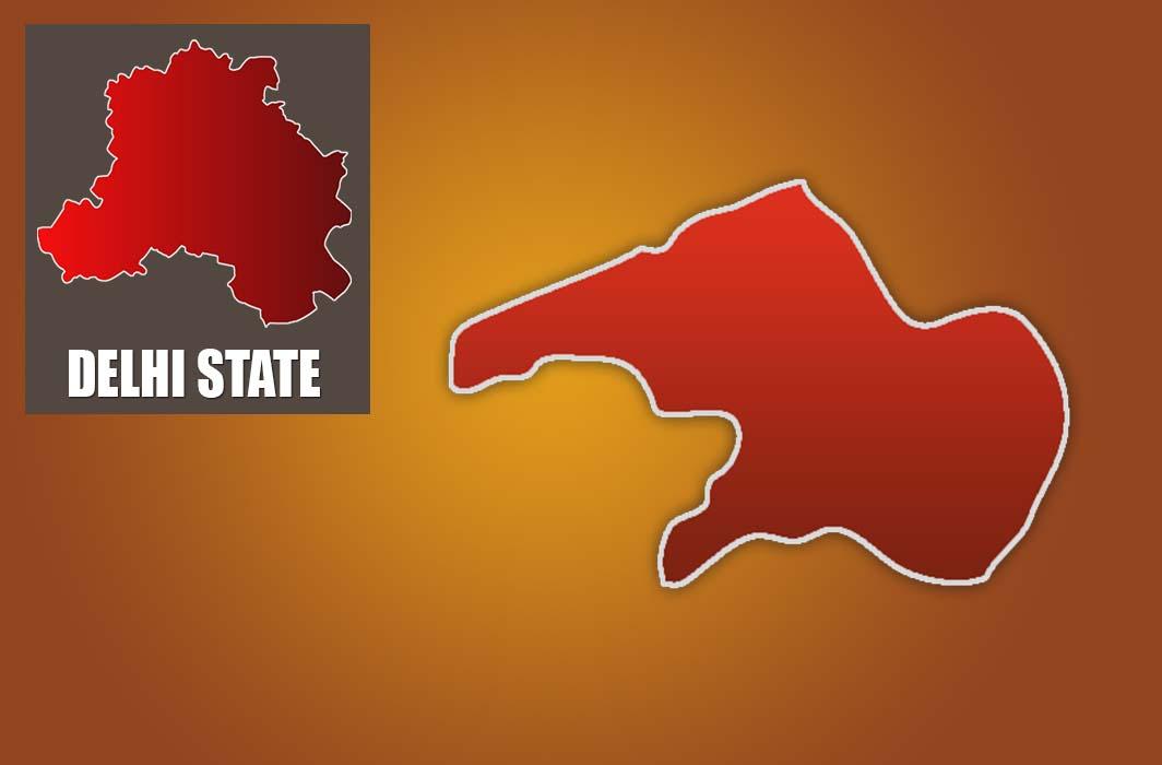 Janakpuri assembly constituency map.
