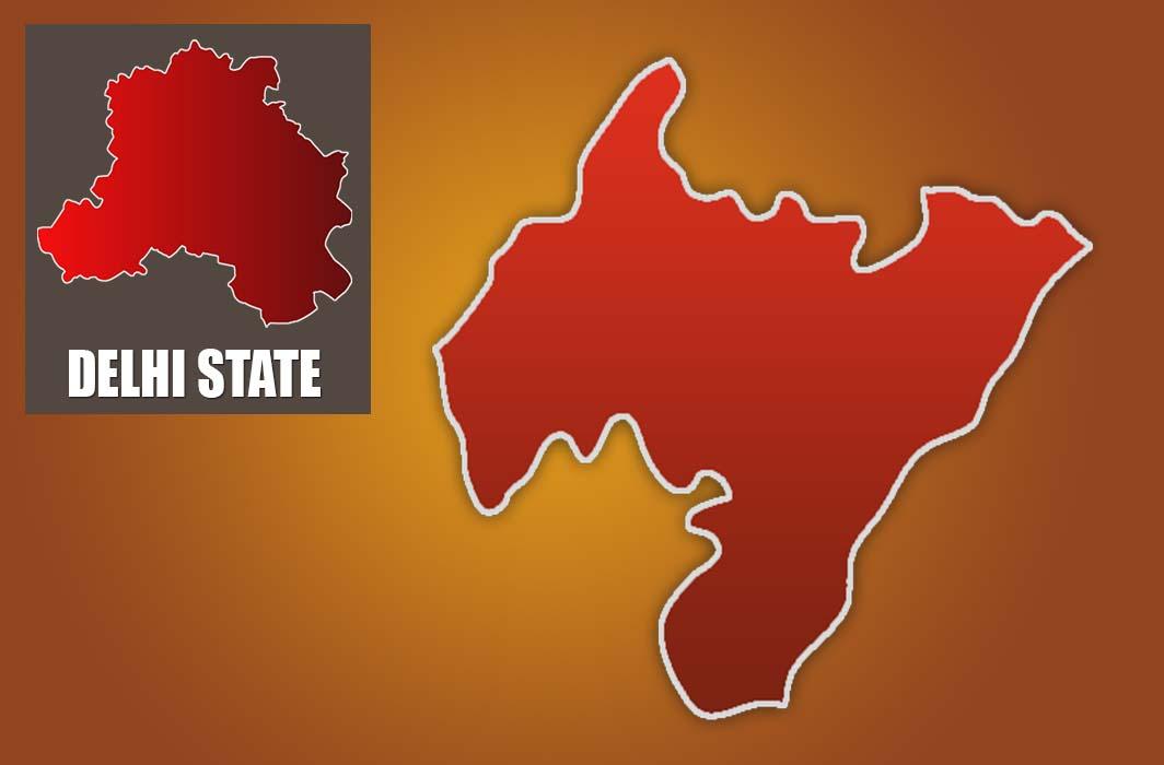 Rajinder Nagar constituency map