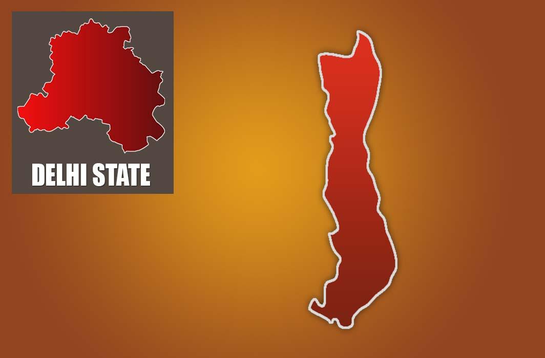 Jangpura constituency map