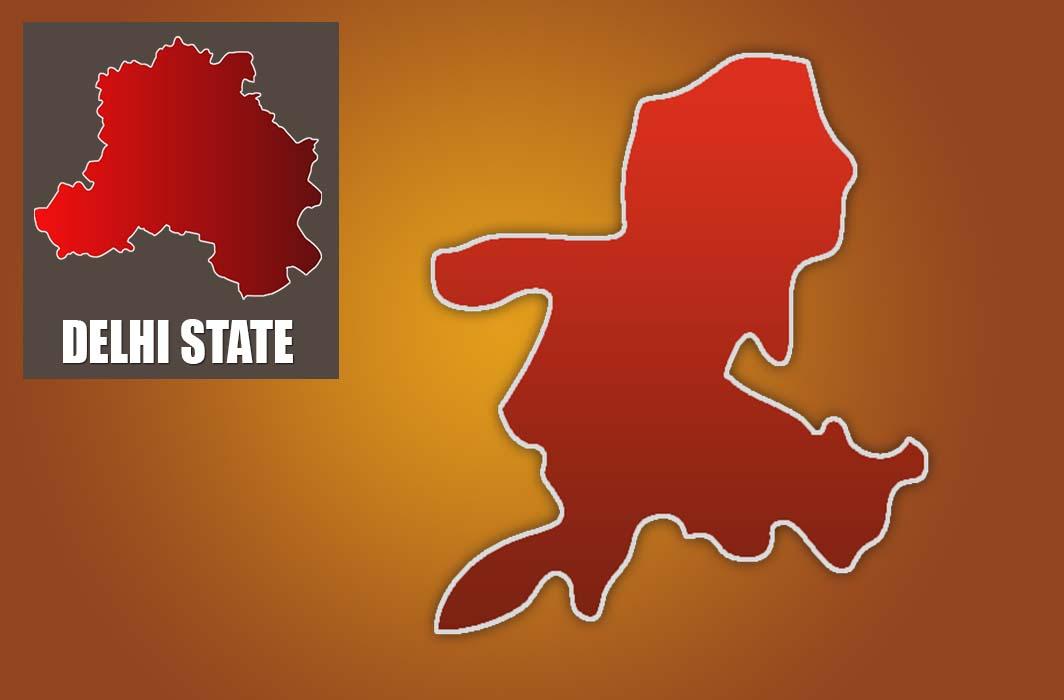 Map of Kasturba Nagar assembly constituency