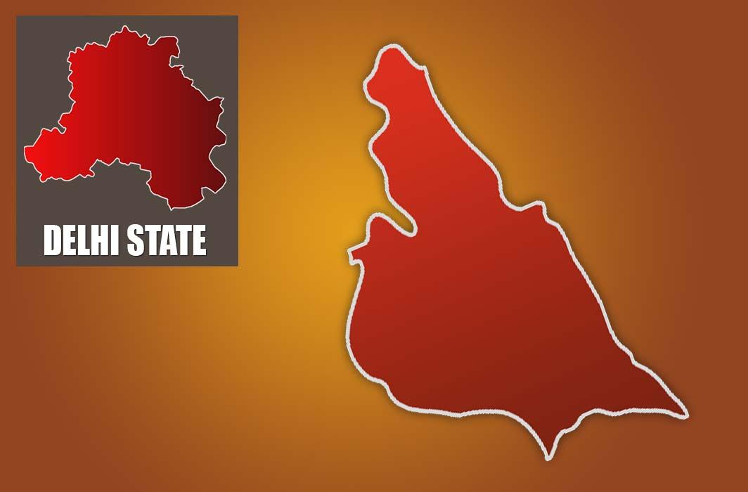Tughlakabad map
