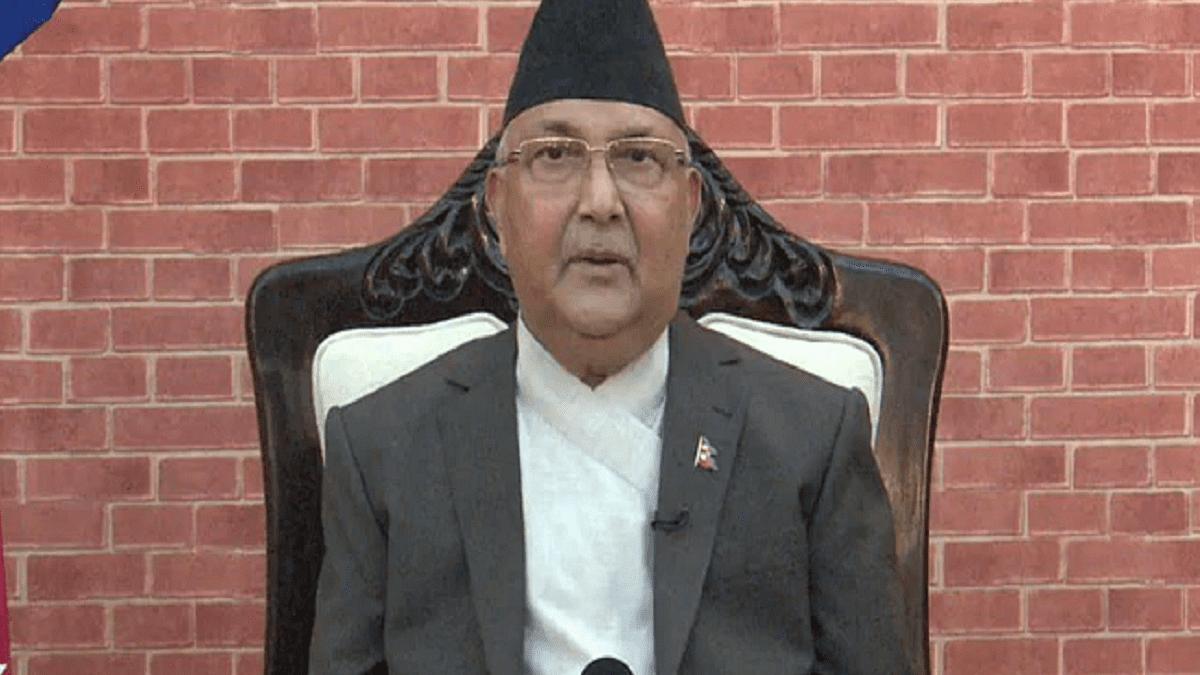 Nepal PM K.P. Sharma Oli